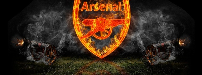 Arsenal football couverture facebook