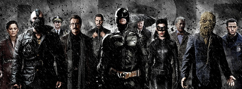 Couverture facebook dark knight rises