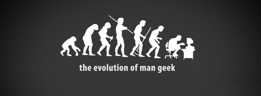 évolution de l'homme Geek