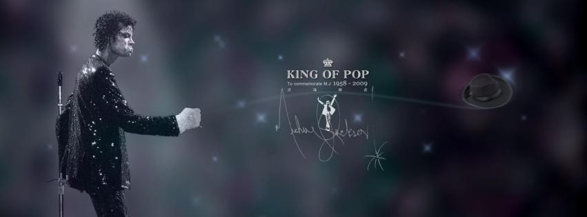 Couverture facebook Michael Jackson