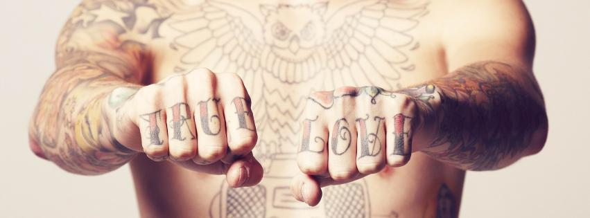 tatouages mains couverture facebook
