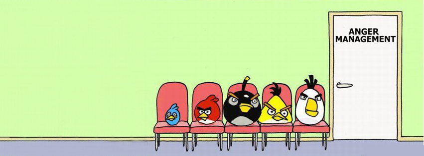 angry birds salle d'attente