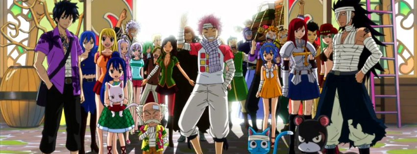 Fairy Tail couverture facebook