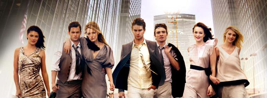 Gossip Girl couverture facebook