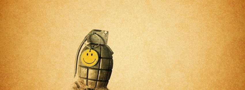 grenade smiley