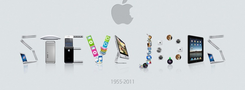 Steve Jobs couverture facebook apple