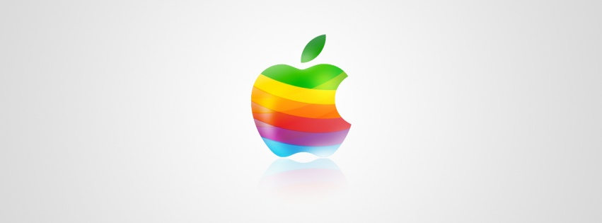 Logo apple muticolor