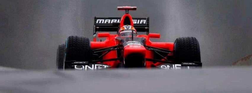 Marussia formule1 couverture facebook