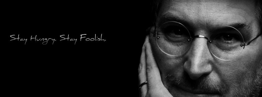 Couverture facebook Steeve Jobs