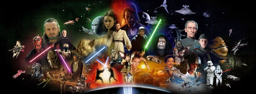 Couverture facebook star wars