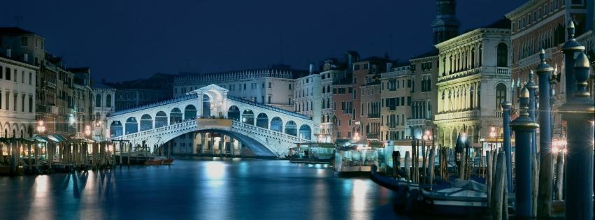 Couverture facebook Venise