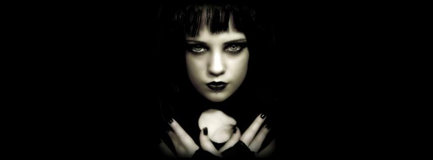 Femme gothique cover facebook