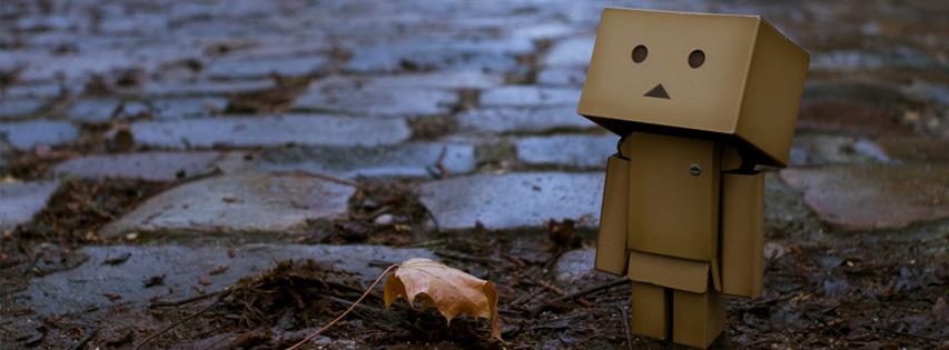 automne personnage carton couverture facebook