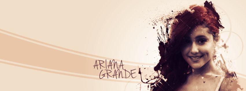 couverture facebook ariana grande