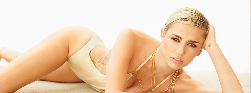 Couverture facebook Miley Cyrus