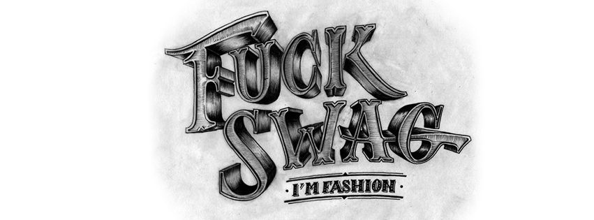 Fuck swag couverture facebook