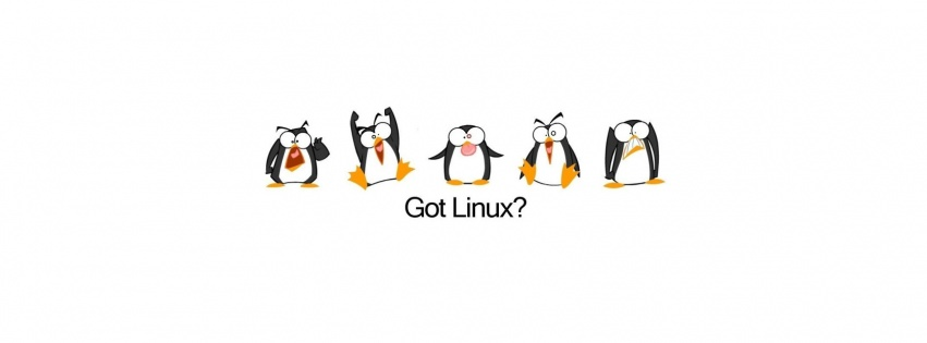Got linux ? couverture facebook