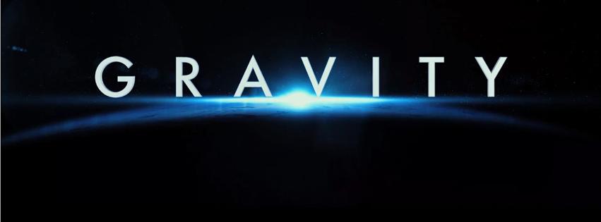 Couverture facebook Gravity le film