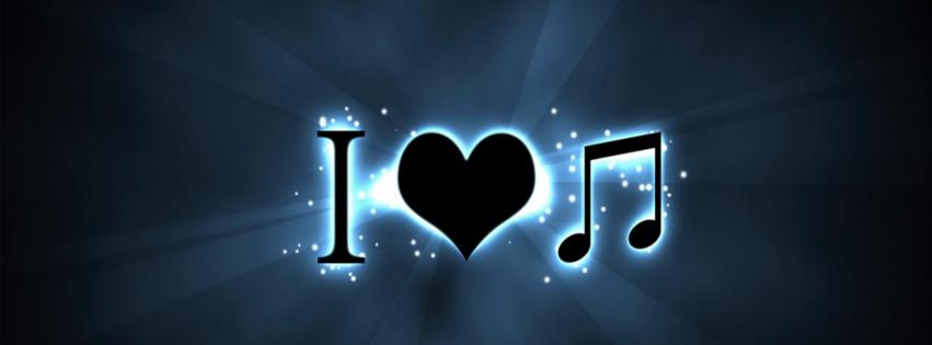 i love music cover facebook