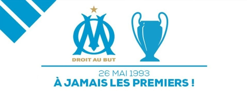 Marseille champion europe couverture facebook