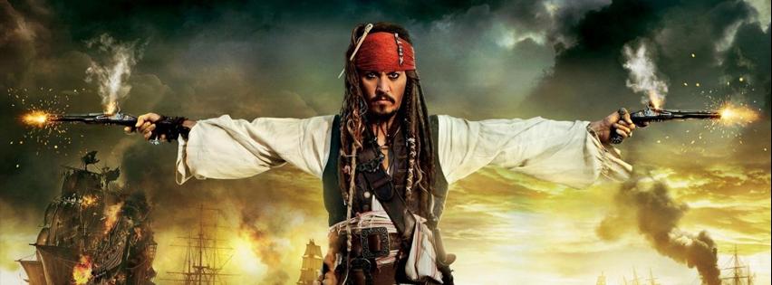 couverture facebook pirate des caraibes