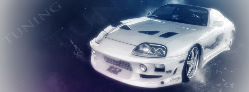 Voiture Tuning couverture facebook