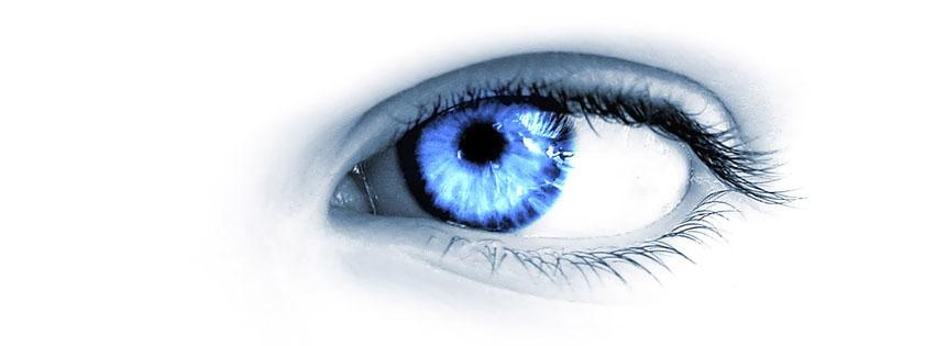yeux oeil bleus couverture facebook