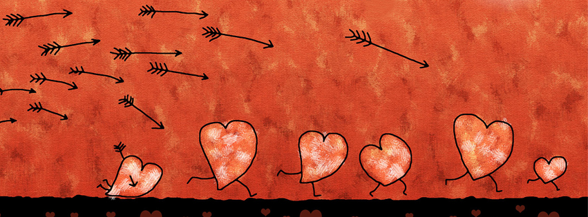 couverture-facebook-saint-valentin-fleches-coeur