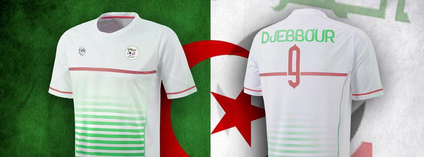 Couverture facebook maillot algérie Coupe du monde 2014