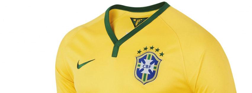 Couverture facebook maillot brésil coupe du monde 2014