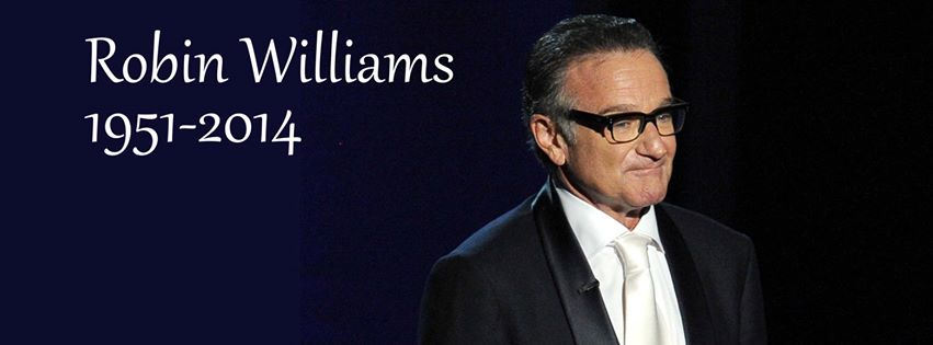 couverture facebook Robin Williams