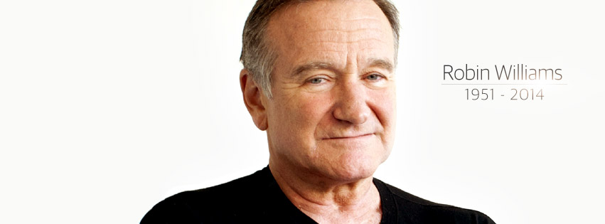 Couverture facebook Robin Williams 1951-2014 Hommage
